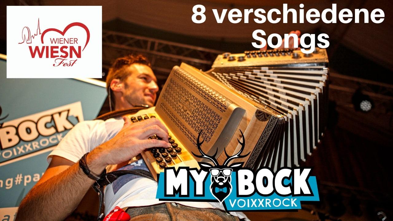 MYBOCK live Wiener Wiesn Fest 8 Songs